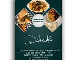 #9 untuk flyer for DELMELA CAFE oleh Ripon4422