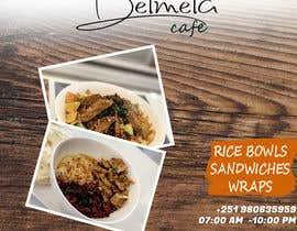 #28 untuk flyer for DELMELA CAFE oleh AmmarSabry94