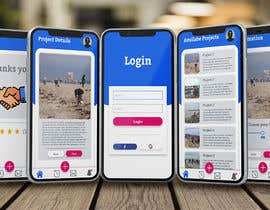 #37 para Clickable Mock-up / Prototype for App (Android / iPhone) with Design Principles / Corporate Identity por achovic