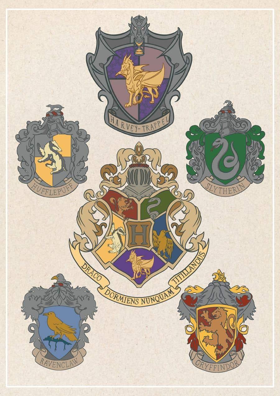 Конкурсная заявка №                                        11                                      для                                         Harry Potter Heraldry