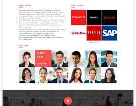 Nro 8 kilpailuun Website for startup Staffing business käyttäjältä SK813