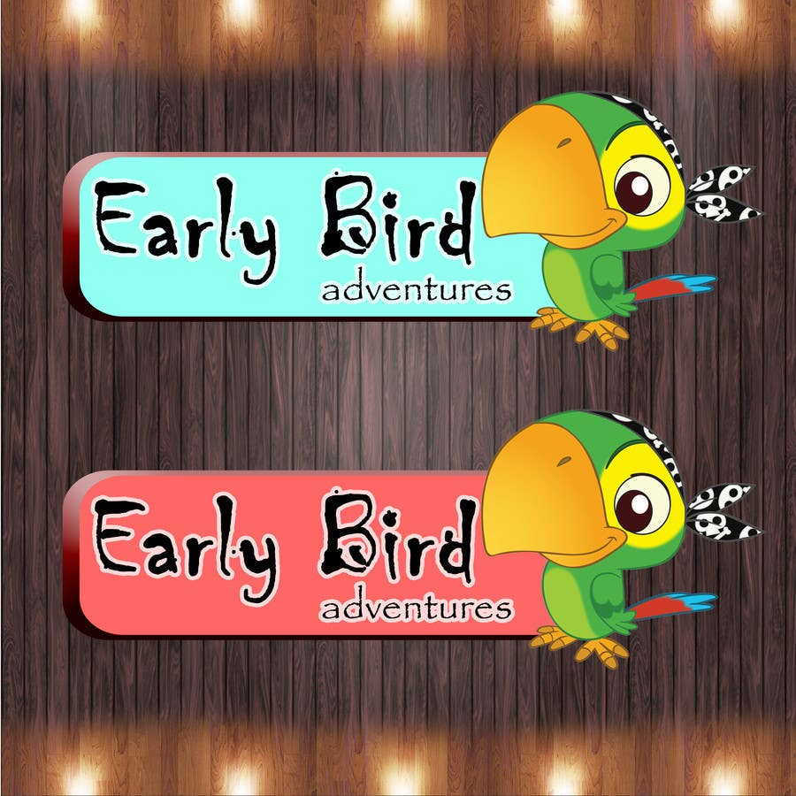 Konkurrenceindlæg #                                        54                                      for                                         Logo Design for Early Bird Adventures