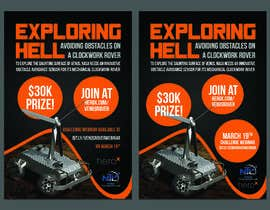 #132 for Create a handout to promote a NASA Tournament Lab Venus rover design challenge by bhahmz