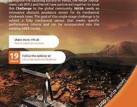 #115 for Create a handout to promote a NASA Tournament Lab Venus rover design challenge by timenaut