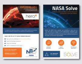 #125 for Create a handout to promote a NASA Tournament Lab Venus rover design challenge by Enroot