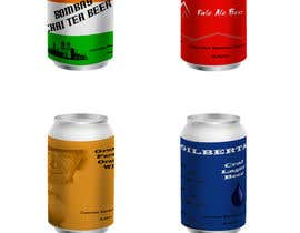 #3 for 4 Beer labels ( cans) by Spippiri