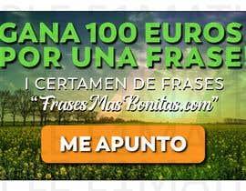 """#16 para Banner publicitario para certamen de frases """"FrasesMasBonitas.com"""" por E1matheus"""