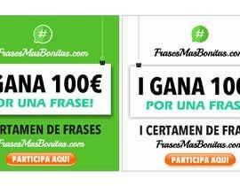 "#1 para Banner publicitario para certamen de frases ""FrasesMasBonitas.com"" de nabeel1vw"