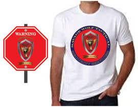 #10 para Design Security Sign and cool T-shirt de ziaurrahman2701