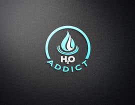 #154 for H20 Addict Logo by abknayeem