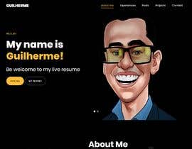 #22 for Build me the design of my personal 'Single Page Resume' website. by khouloudmaamouri