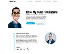 #25 for Build me the design of my personal 'Single Page Resume' website. by Nastassy