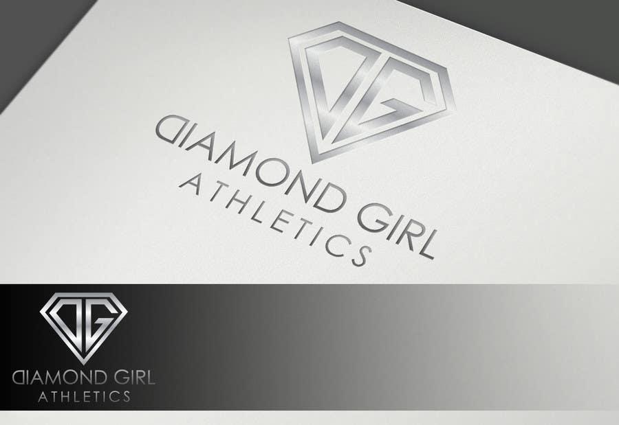 Bài tham dự cuộc thi #52 cho Logo Design for Diamond Girl Athletics