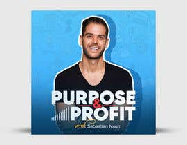 #86 для Purpose and Profit Podcast Cover от prominhaj