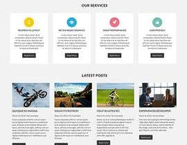 nº 69 pour Word press-theme design -4 Page -Home Page, Destinations Landing Page, Experience/Things to do page and Booking Page par MahmudulHasan59