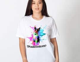 aditodev7 tarafından To create an image / design for a T-shirt based on a real dog picture. için no 35
