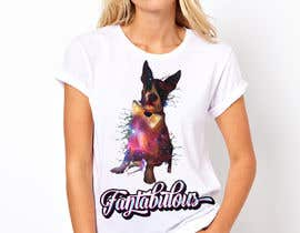 aditodev7 tarafından To create an image / design for a T-shirt based on a real dog picture. için no 54