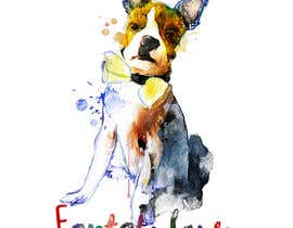 axldezcort tarafından To create an image / design for a T-shirt based on a real dog picture. için no 34