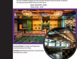 nº 15 pour Design an visually pleasing Event Invite par junaiadarif