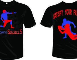 #46 untuk Tshirt Design-Sports Related oleh darveshpatel
