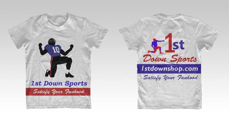 Penyertaan Peraduan #                                        40                                      untuk                                         Tshirt Design-Sports Related