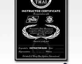 #17 for Make a Certified Instructor certificate by DhanvirArt
