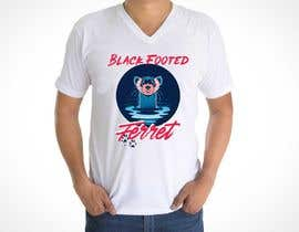 #24 для Graphic Design for Endangered Species - Black Footed Ferret от ricardoher