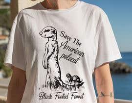 #26 для Graphic Design for Endangered Species - Black Footed Ferret от mdyounus19