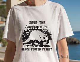 #29 для Graphic Design for Endangered Species - Black Footed Ferret от mdyounus19