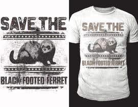 #31 для Graphic Design for Endangered Species - Black Footed Ferret от sajeebhasan166