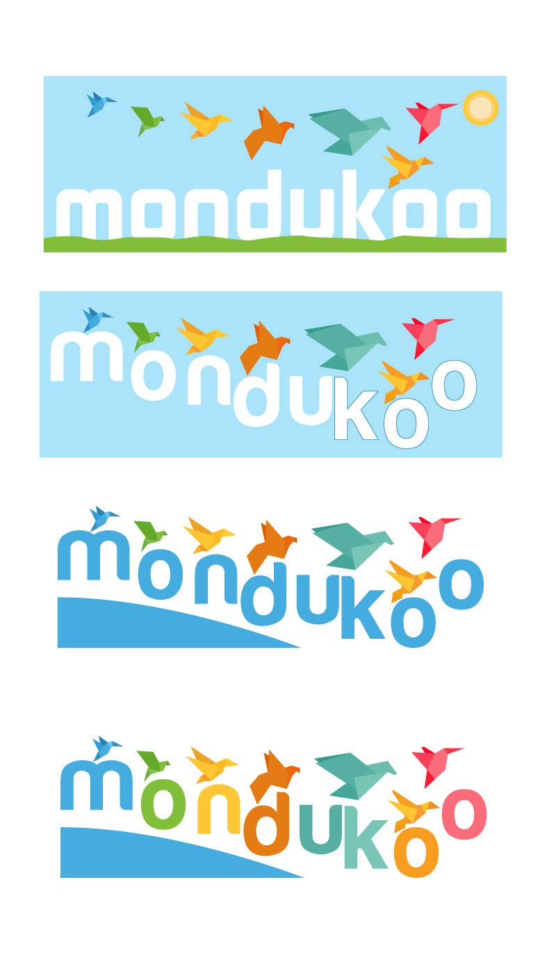 Inscrição nº 8 do Concurso para mondukoo, create a logotype for my personnal website and an icon