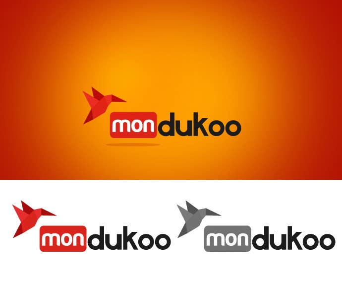 Inscrição nº 13 do Concurso para mondukoo, create a logotype for my personnal website and an icon