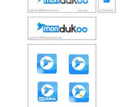 #15 untuk mondukoo, create a logotype for my personnal website and an icon oleh YogNel
