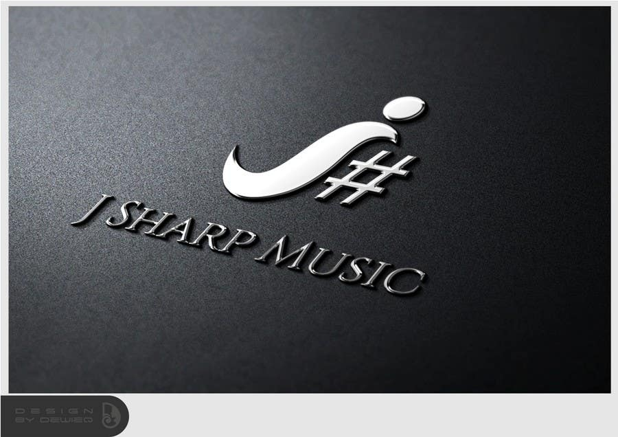 Konkurrenceindlæg #65 for Logo Design for J Sharp Music