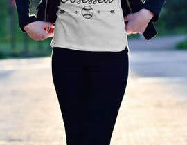 #55 for T-shirt Design: Blessed and Baseball/Softball Obsessed by AbdullahDesign24