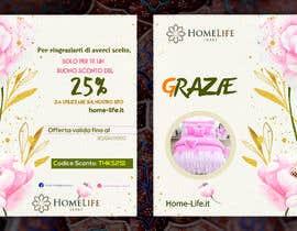 Nro 25 kilpailuun Create a visually stunning Thank you card for customers käyttäjältä Designermpmunna