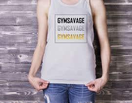 #34 для GYM SAVAGE Mock up от yusufsetiawan89