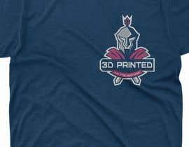 "Nro 3 kilpailuun Design 5 T-Shirts and/or Gear for a 3D Printing/Tabletop Gaming Business - ""The Printed Republic"" käyttäjältä launchExtinct"