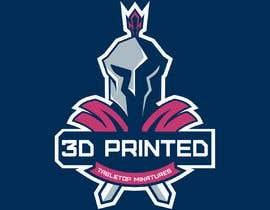 "Nro 4 kilpailuun Design 5 T-Shirts and/or Gear for a 3D Printing/Tabletop Gaming Business - ""The Printed Republic"" käyttäjältä launchExtinct"