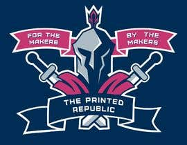 "Nro 17 kilpailuun Design 5 T-Shirts and/or Gear for a 3D Printing/Tabletop Gaming Business - ""The Printed Republic"" käyttäjältä launchExtinct"