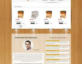 nº 11 pour Website Design for newly designed beehive eCommerce site par SadunKodagoda