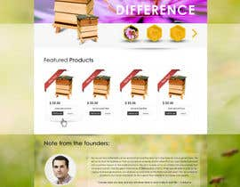 nº 13 pour Website Design for newly designed beehive eCommerce site par SadunKodagoda