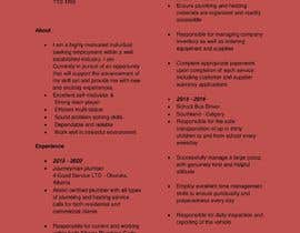 #23 untuk rewrite resume (CV) and write a cover later oleh sometimeforu