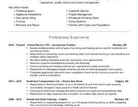 #5 untuk rewrite resume (CV) and write a cover later oleh Chariswhywl