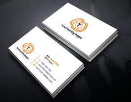 """Nro 34 kilpailuun Design Logo & Visiting card for my Software Company/startup """"TechamityApps"""" käyttäjältä RUMONQWERTY"""