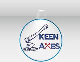 Nro 73 kilpailuun Logo design for an Axe Throwing business käyttäjältä arafat440y