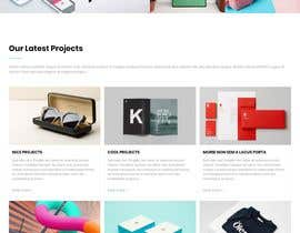#2 for design home page for print webshop by MWaqar123