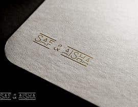 #112 cho logo for wedding ( Saf & Aisha ) or ( S & A ) bởi CreativityforU