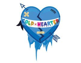 "ganjarelex tarafından I'm starting a new clothing line ""Cold Hearted"". I need someone to recreate this exact logo that I've attached. I'm looking to award someone as soon as possible!!! için no 14"