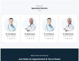 #17 for Website design for a healthcare e-service provider af joycoder2